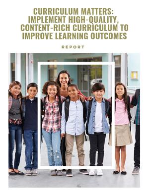 Curriculum Report